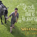RT @shaandaarmovie: That moment when your dreams are met with the oh-so-cute reality-> http://t.co/ddF36cpf5i #ShaandaarDiaries