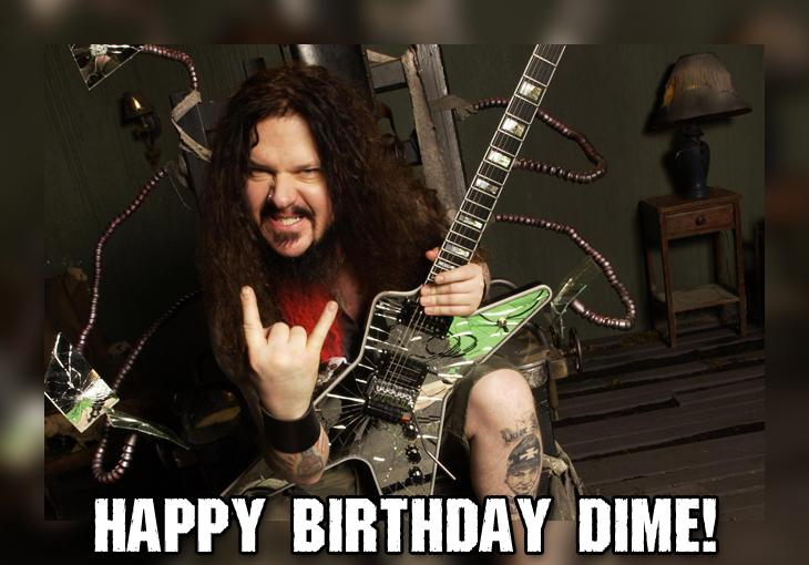 Happy Birthday Dimebag Darrell!. Forever missed & loved. http://t.co/s2s7UdPLpq
