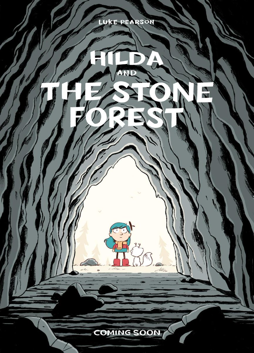 So here's your first look at the new Hilda book I'm working on! http://t.co/rwHuLI3Gwf