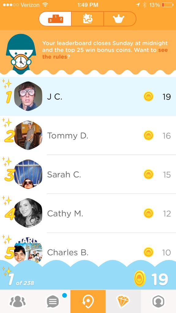 Swarm 3.0 live in app stores! Leaderboard. Coins. Insights. Oh my! http://t.co/T9Nqnv5LdL #BringBackTheFun http://t.co/zK3TBnmvUU