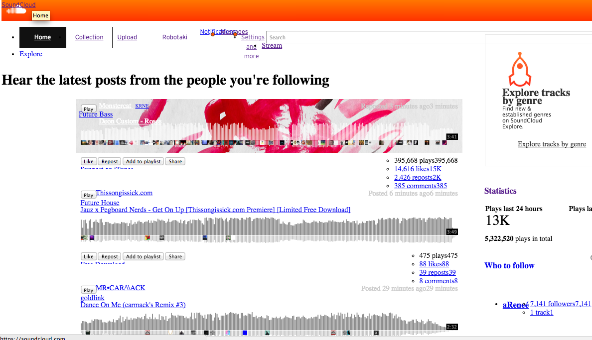 The new soundcloud layout is fantastic http://t.co/nhIEWHv4iu