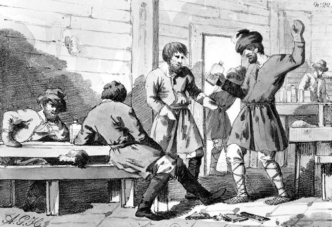 Лучик света - История русской водки
