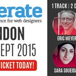 If you're attending #generateconf London, don't forget to add yourself to our @lanyrd page: http://t.co/ZQGEEEeZgr http://t.co/9EAMEFE6vX