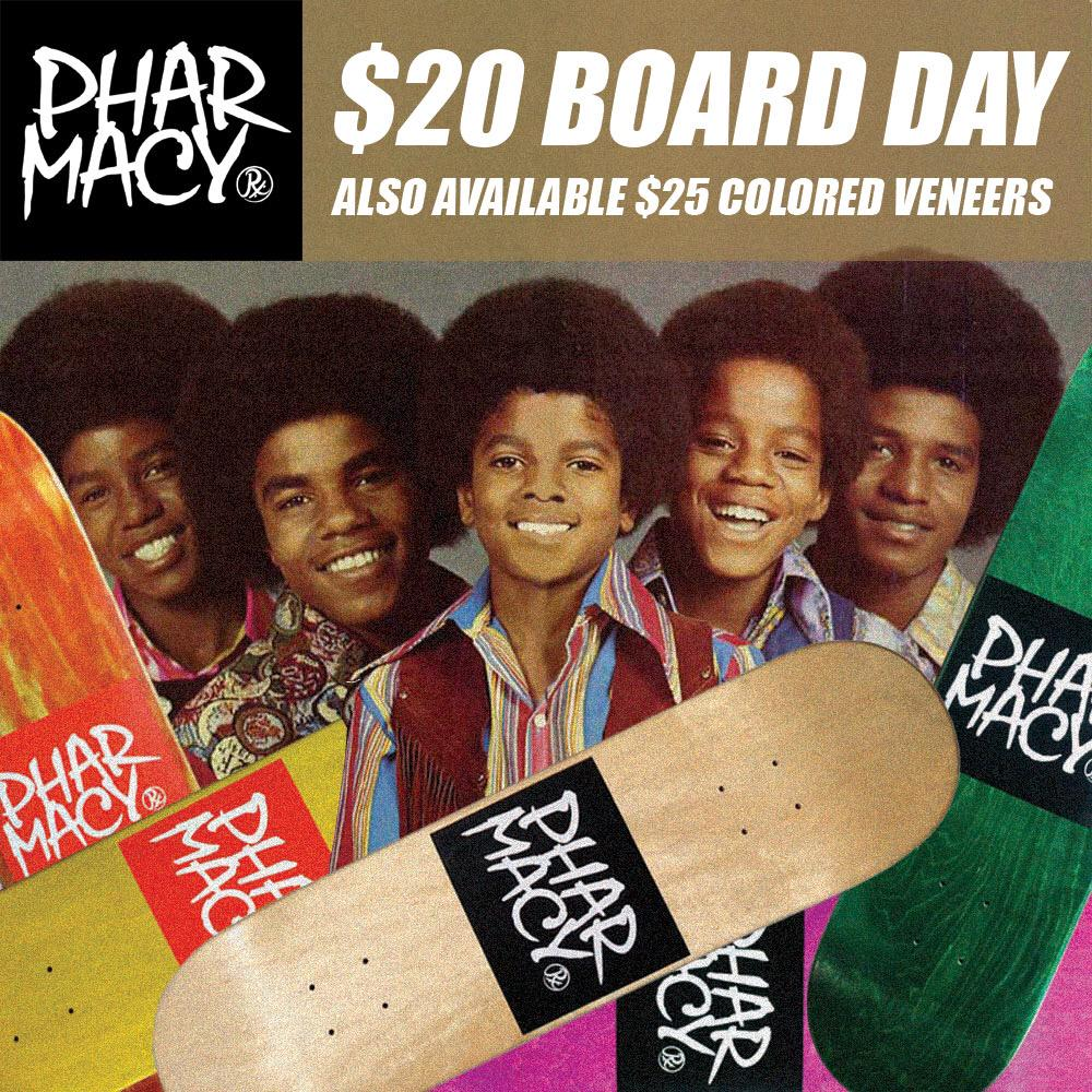 All RX locations. $20 DOLLAR BOARD DAY!!! 20th of every month. We also have some special Colored veneers for $25. http://t.co/CyJw1DQ2Um