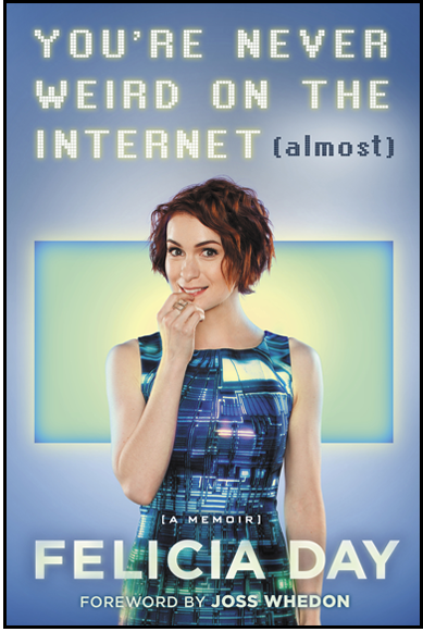 Congrats to @feliciaday on hitting #3 on the New York Times bestseller list! Tour dates here: http://t.co/CFY6SFslJr http://t.co/nBcjqCRK8u