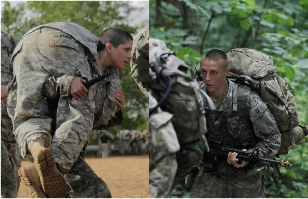 Well Done! Once @WestPoint_USMA Cadets, now Griest '11 & Haver '12 1st women to earn @USArmy Ranger Tab #LongGrayLine http://t.co/9MqJXW23ZH