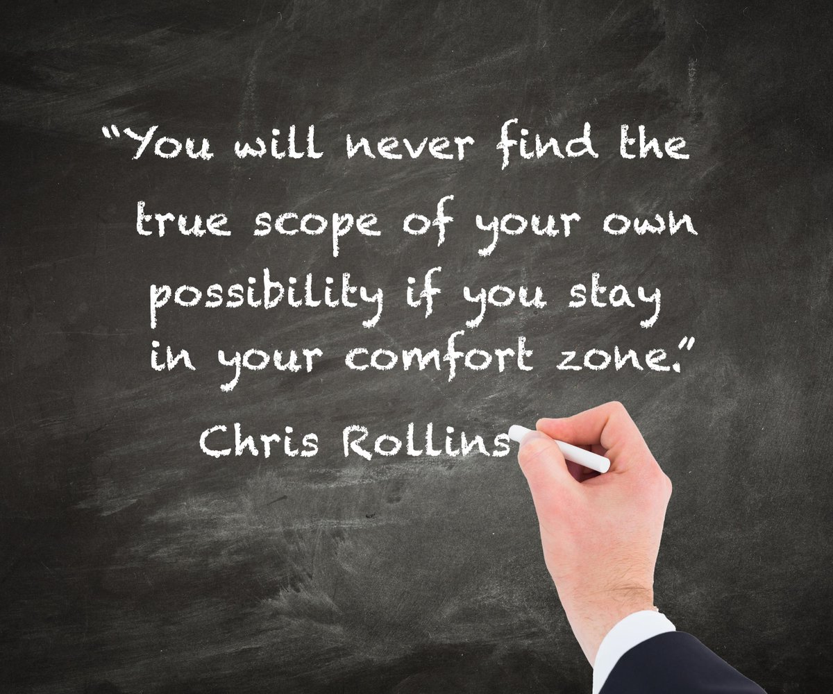 The Comfort Zone is not your friend! http://t.co/YdSV0sC2tH