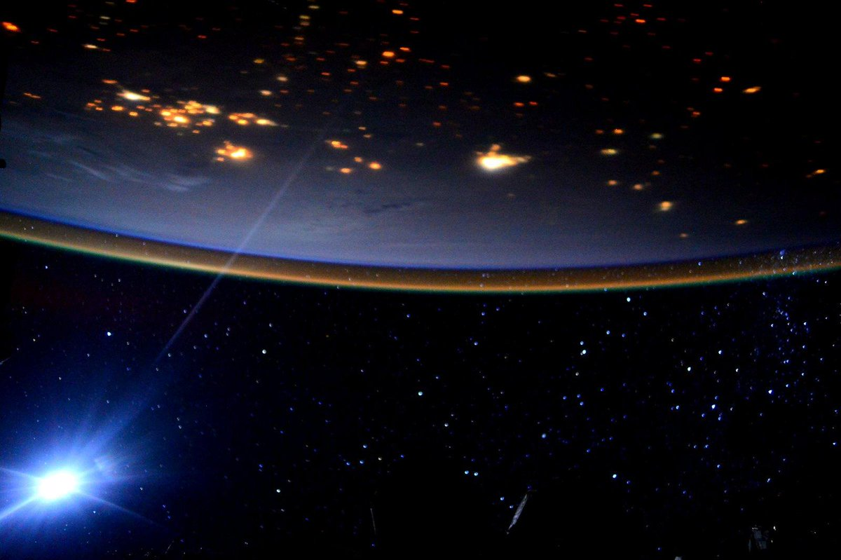 moon light on space station - photo #13