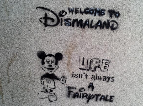 """It's not art unless it has the potential to be a disaster."" #Dismaland http://t.co/P2hS8qeltb"