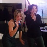 Epic karaoke performance•Total Eclipse of the Heart by @pahlkadot and Jennifer Anastasoff of @USDS. For you, @gdsteam