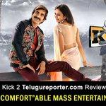 RT @Telugu_Reporter: Kick 2 Review >> #Kick2 #RaviTeja @Rakulpreet @NANDAMURIKALYAN #SurenderReddy @MusicThaman http://t.co/IQ92nzK3Fi