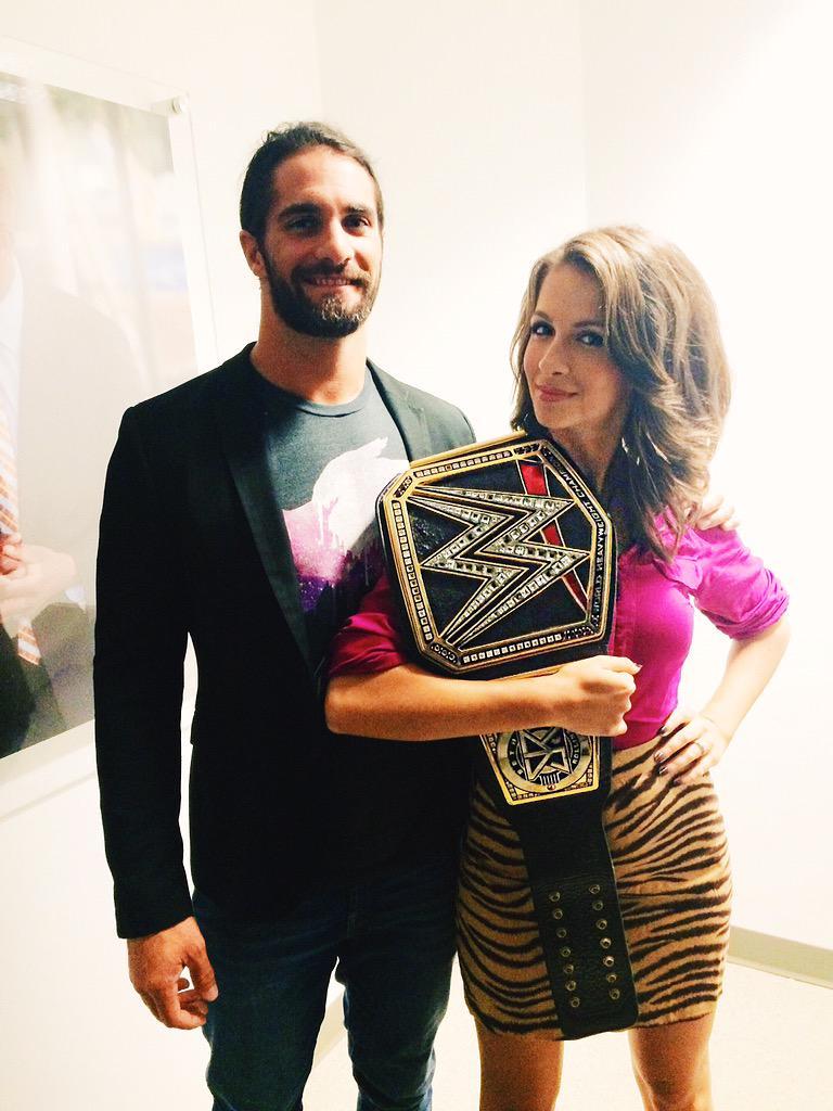 See @WWERollins I told you I wouldn't drop it #wwe http://t.co/IKgysCHJRZ