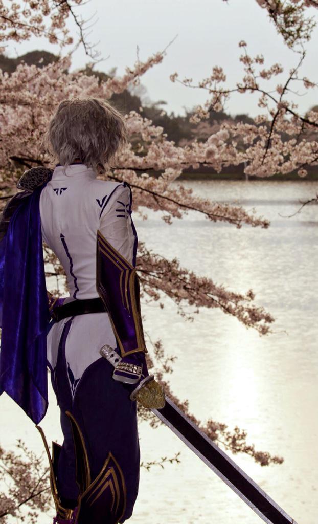 【コスプレ】「翔ぶが如くと願いながら」「 遥か遠くと願っていた」***撮影 : 侑 ()戦国BASARA 竹中半兵衛 :