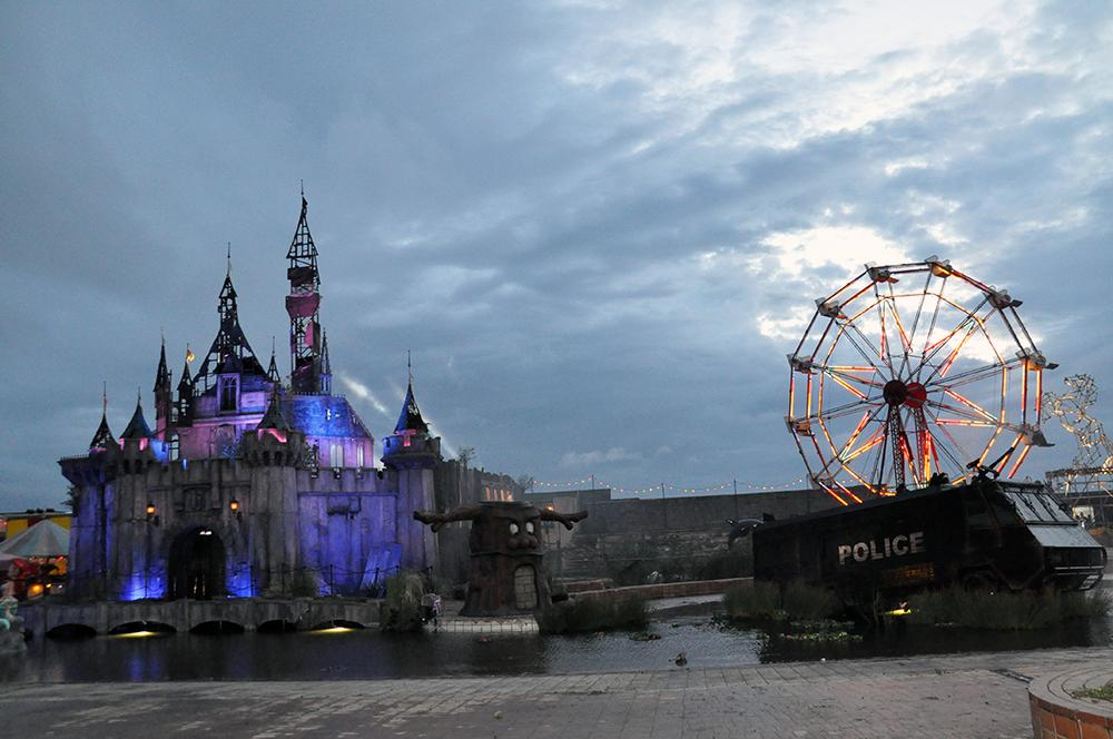 The Agency attends preview of Banksy's #Dismaland in Weston-super-Mare http://t.co/wL8nCF0ugU http://t.co/iReBDqPOTA