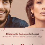 RT @BBjlo: El Mismo Sol by @asolermusic feat @JLo is now on iTunes!!! Buy it now: https://t.co/5WI2XSCQsN