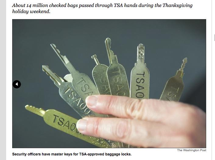 Thank you @washingtonpost for posting the @TSA's master keys :) - All lockpickers #security  http://t.co/lV0eUIi58c http://t.co/4Ljrv4IGiN