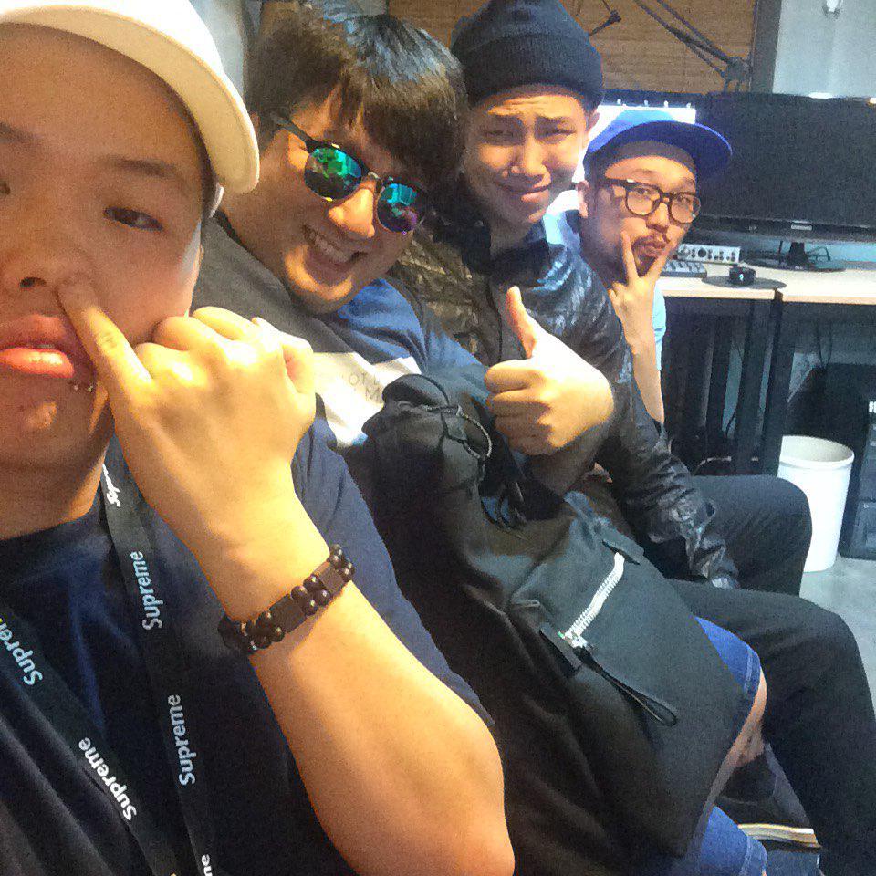 Boys Reunion! @pddogg @supremeboi94 @BTS_twt http://t.co/maVzRUg1db
