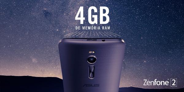 São até 4GB de memória RAM no novo Zenfone 2. Tecnologia de outra galáxia, agora aqui na terra http://t.co/GJvtENTM8T http://t.co/P0CpMKm0DP