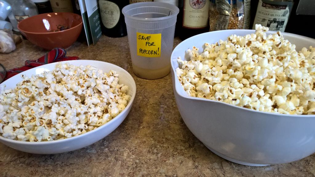 Breakfast bacon grease just became bacon popcorn. That's how we do it @thinkbrownstone. http://t.co/PL9wJ8Dnga
