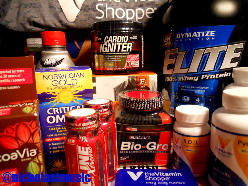 Staying fit and healthy, this summer, with the help of my friends at @VitaminShoppe. http://t.co/c8WeKe6mwY