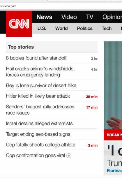 Crazy news from CNN today about a bear attack: http://t.co/1Uw8RUFPVF