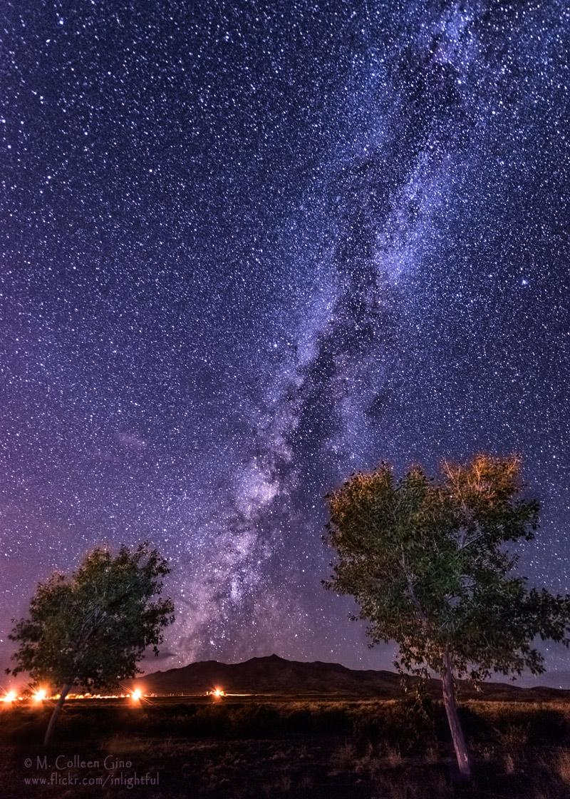 Milky Way Stars As Beautiful They Get In The New Mexico Night Sky Photo Inlightful