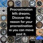 #Procrastination is letting your #littlevoice win--don't let that happen! http://t.co/bGRwsXaeR4