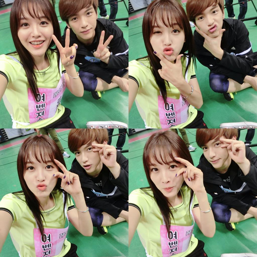#아육대 #남매샷 ㅋㅋㅋ #jaekyung #jaehyun http://t.co/jwxE2XWmk2