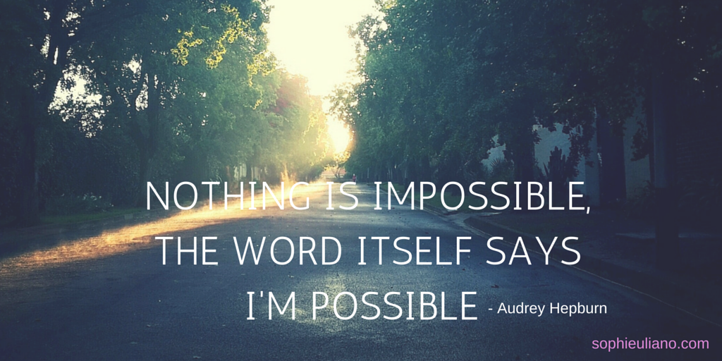 Nothing is impossible, the word itself says I'M POSSIBLE!!! #MondayMotivation http://t.co/93AvljaV8H