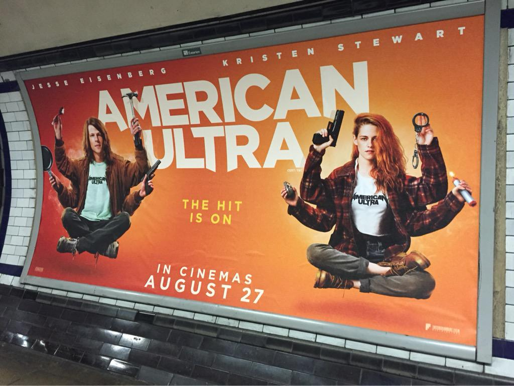 Look at the London tub! #americanultra http://t.co/HGG7OnXxKh