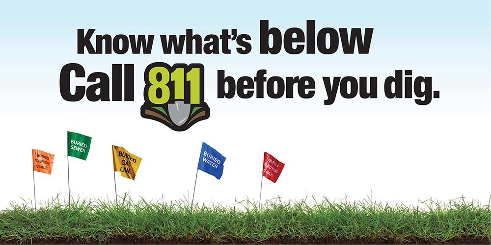 We're looking forward to celebrating #811Day tomorrow and helping to bring attention to importance of #Call811! http://t.co/3ryTw49DHF