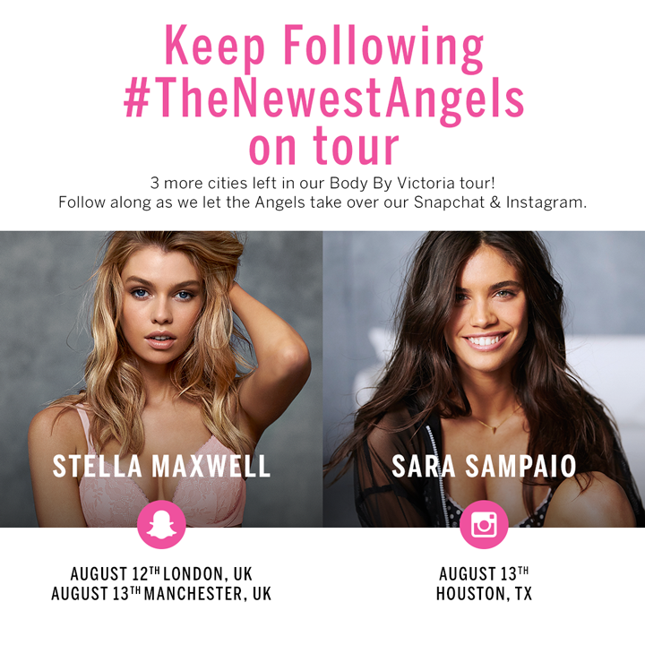 THIS WEEK: Stay tuned for Stella Maxwell & @SaraSampaio's adventures! http://t.co/GRyA3tMgCR http://t.co/LnnLdfPKXi
