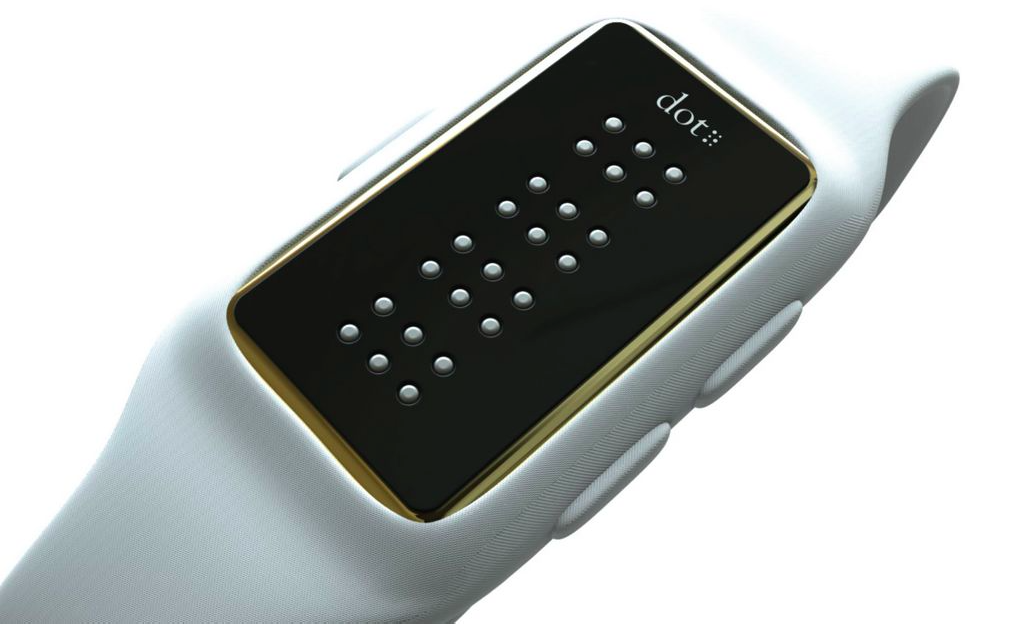 This #braille #smartwatch lets the visually impaired feel ...