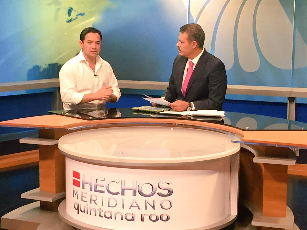 En entrevista en el estudio con @jmartinsamano el Diputado Federal electo D-01 de #QuintanaRoo @JLToledoM http://t.co/Hd58ZN7s7T