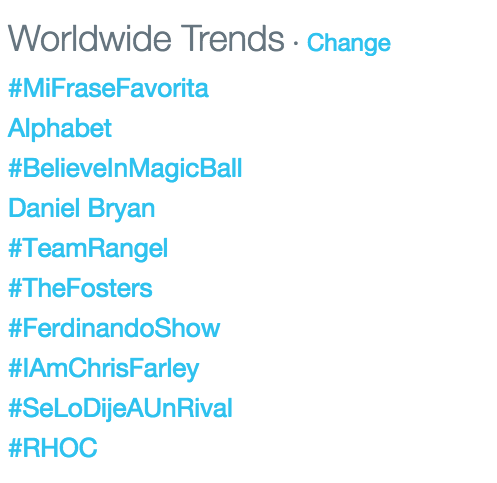 It has been trending for almost three hours now @ThePeterPaige @BradleyBredeweg @JLo http://t.co/T98V0h2F7C