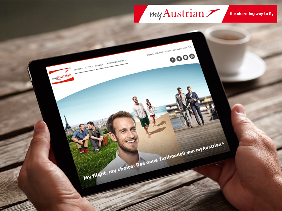 Servus to our all new myaustrianblog! Experience myAustrian news, traveling tips and more: