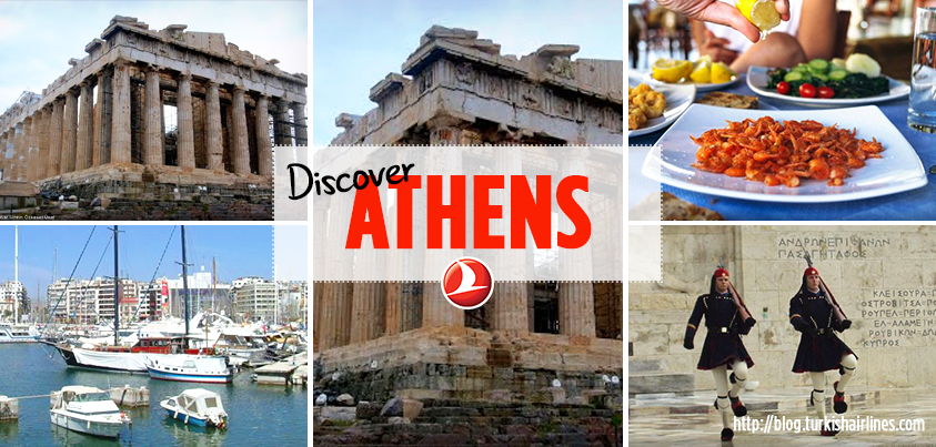 Passionate about history? Take a journey into Athens with Turkish Airlines!