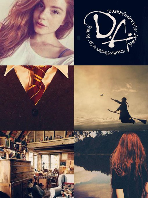 Happy Birthday Ginny Weasley the only person who could be equals with that lovable dork we know as Harry Potter