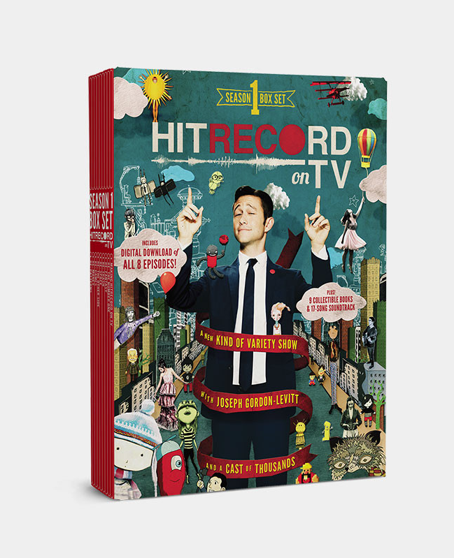 RT @hitRECord: Not only is S1 of #HITRECORDonTV on @netflix, it's also avail. in this box set w/books + more: http://t.co/SlizMtA966 http:/…
