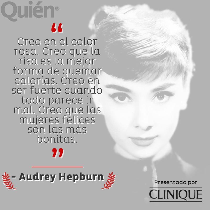 #ListaParaLoQueVenga #FraseDelDía - Audrey Hepburn Presentado por @CliniqueMexico http://t.co/NzyMIFuMRx