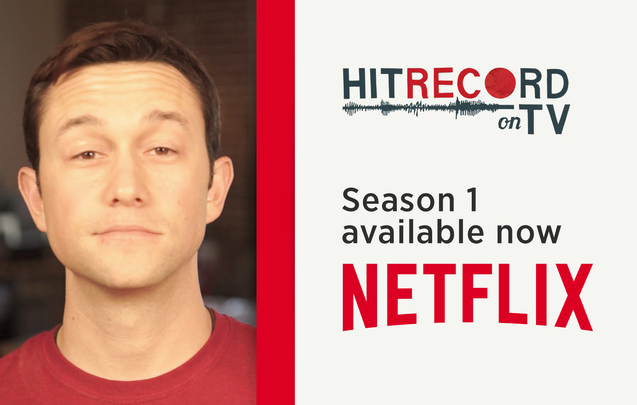 RT @hitRECord  ICYMI: #HITRECORDonTV is now streaming on @netflix! http://t.co/XxWHjsyYZA http://t.co/EGK5Irz40e