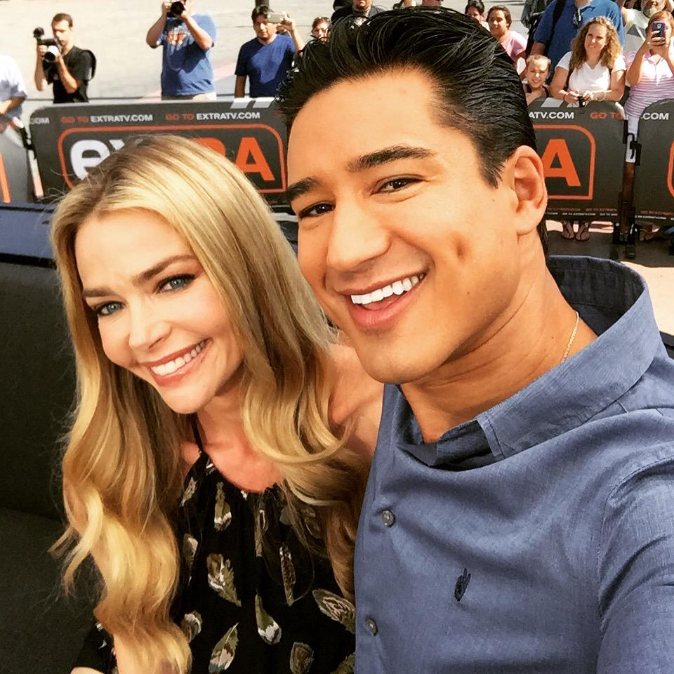 RT @MarioLopezExtra: Caught up with an old buddy @DENISE_RICHARDS today...  #RescuedHerFromDrowningOnce #SBTB http://t.co/LUJ3kSRPg7