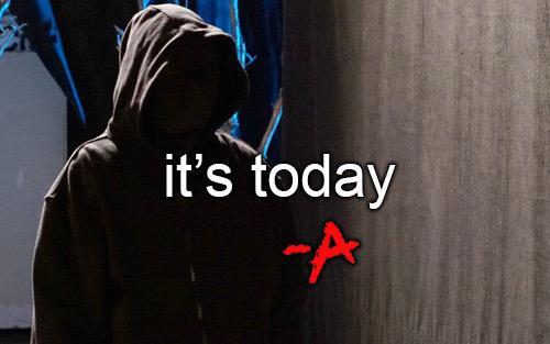 It's today. #FAceToFace http://t.co/0brpHOJzQO