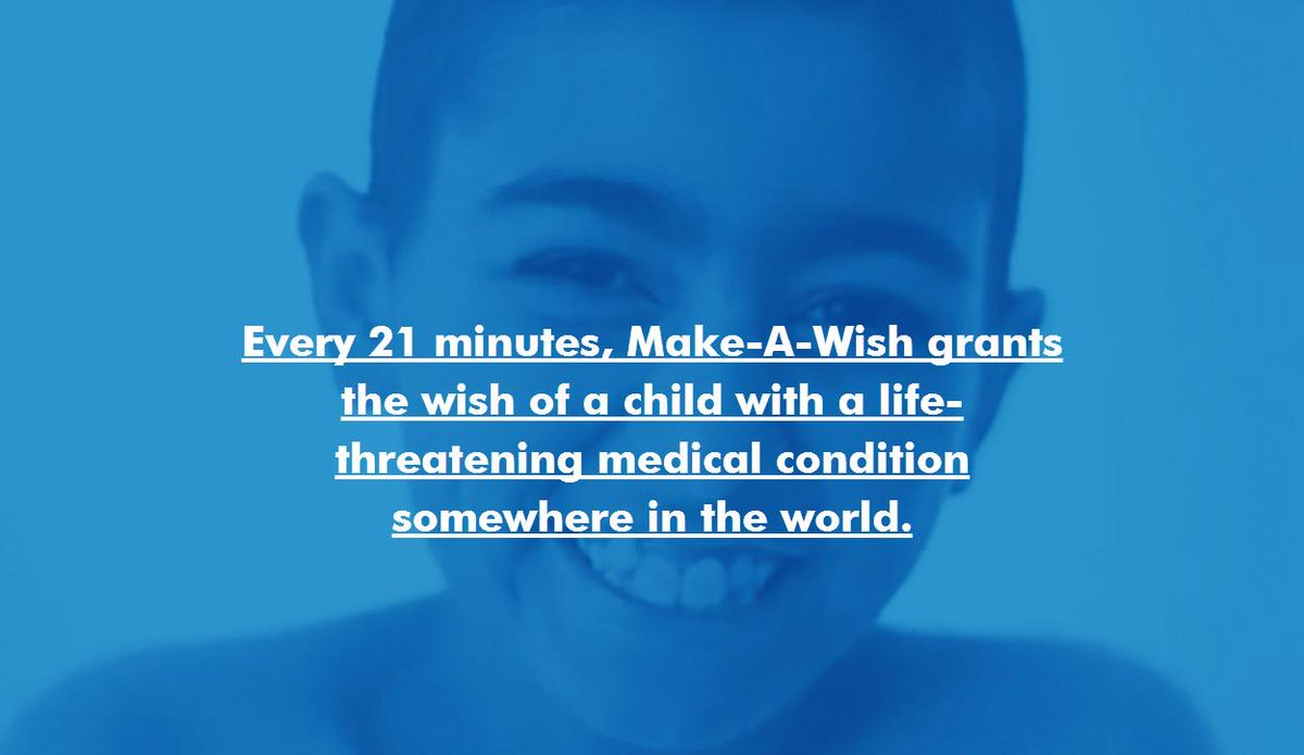 Make-A-Wish brings #hopestrengthjoy to children all over the world. #wishfact Visit: http://t.co/XatUEHn64a http://t.co/HDOdokzDWO