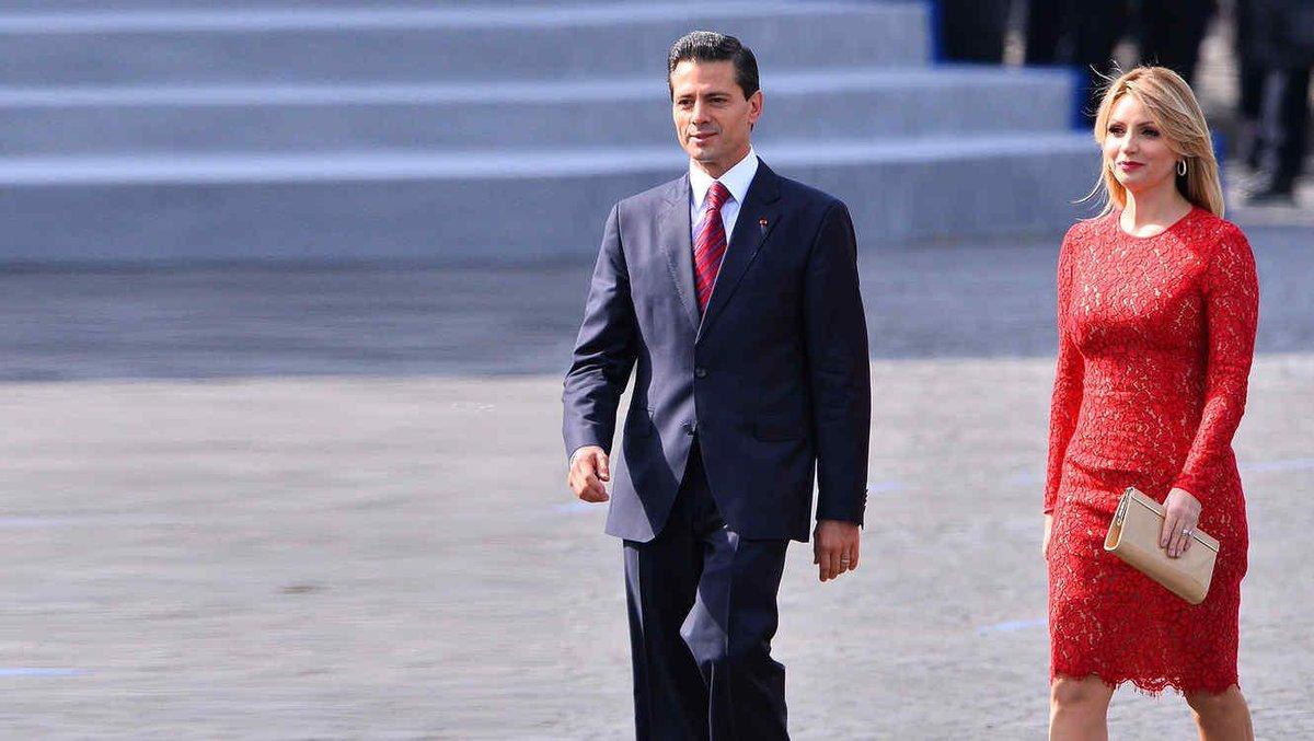 Tensi n presidencial enrique pe a nieto y ang lica for Los nietos se separan