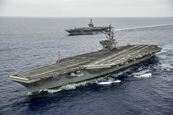 EXCLUSIVE @USNavy Vice Adm. Mike Shoemaker makes the case for aircraft carriers and air wings: http://t.co/UtWgZLG1Um http://t.co/2HOV0Tgsdv