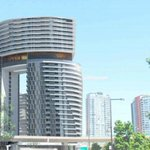 Cool! Modern, arc-shaped tower with skybridge proposed for #Vancouver http://t.co/OlAnVTZHny http://t.co/PahAakYLpN