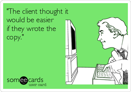 Things you hear in agencies: 10 of the best http://t.co/fOLP25IsD0 @AgencyQuotes http://t.co/deSRkItcDX
