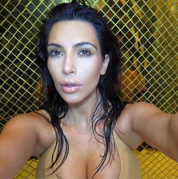 kim pics nude Fake kardashian