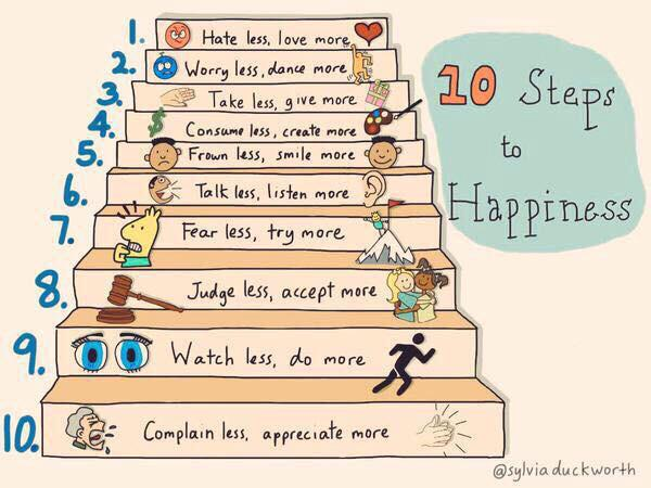 10 Steps to Happiness http://t.co/rCErKqnfEL